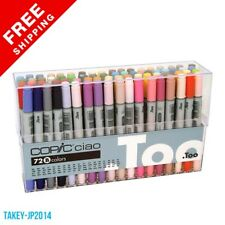Copic Ciao 72 Markers Set B 72 Piece - Free Shipping