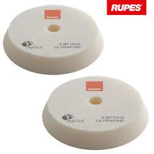 2x Rupes BigFoot Polierschwamm Polierpad Ultrafine weiß ultraweich 130-150 mm