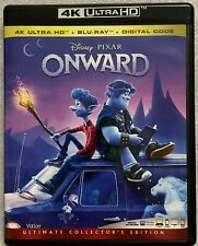 DISNEY PIXAR ONWARD 4K ULTRA HD BLU RAY 3 DISC SET FREE WORLDWIDE SHIPPING