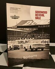 BONHAMS AUCTION CATALOGUE GOODWOOD REVIVAL 2017 FERRARI DAYTONA GALAXIE 500 DB5
