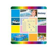 Bestway Reparatur Set 10 x Flicken für Pool, Luftmatratze extra stark auch Intex