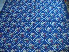 Turkish Flat Weave Carpet--Blue