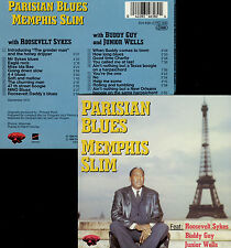 MEMPHIS SLIM  parisian blues  ROOSEVELT SYKES - BUDDY GUY - JUNIOR WELLS