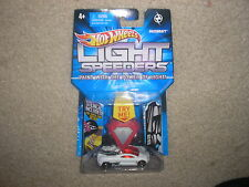 Hot Wheels Light Speeders Backdraft Red with Gray Button