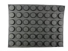 FT 25pcs Rubber Feet Round 12/11mm Ø x5.2mm self adhesive KSH