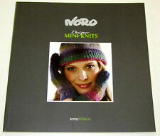 NORO MINI KNITS knitting yarn pattern book #1 with 30 designs for Women