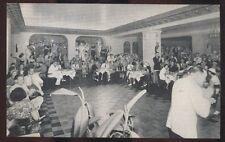 Postcard JACKSONVILLE Florida/FL  Hotel Roosevelt Patio Grill view 1930's