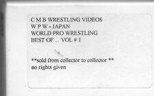 VHS    WPW Japan World Pro Wrestling Best Of VOL 1