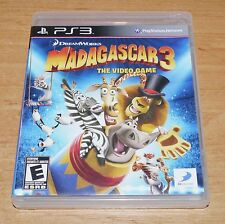 Madagascar 3 Game for Sony PS3 Playstation 3