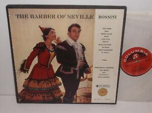 SAX 2266-68 Rossini The Barber Of Seville Tito Gobbi Maria Callas / Galliera E/R