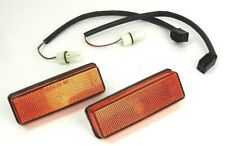 FIAT DUCATO IVECO DAILY PEUGEOT J5 CITROEN C25 PAIR SIDE INDICATOR AMBER + WIRE