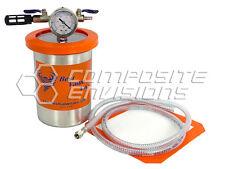 Vacuum Resin Trap Catch Pot - Stainless Steel 2 Quart