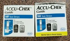 100 Accu Chek Guide Glucose Test Strips 8/20+ Expires 08/2020 or later