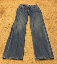 Levis 550 Boys Relaxed Fit Blue Jeans Size 14 Slim 25 X 27