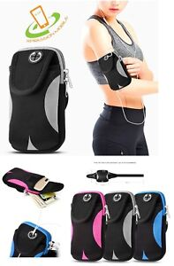 Sport Armband Run Jog Gym Wrist Arm Band Pouch Holder Bag Case UNIVERSAL Phone
