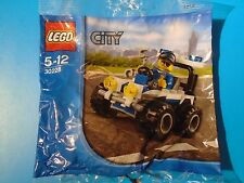 Lego 30228 City Police Quad with Minifigure  Brand New Sealed Polybag