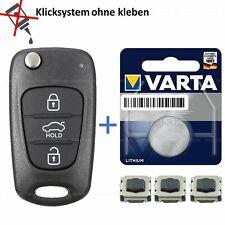 Kia Hyundai I20 I30 IX35 IX20 Elantra Klapp Schlüssel Ersatz Gehäuse Repair set