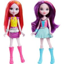 "Barbie in Star light Adventurer 2 Chelsea Dolls Purple & Pink Hair 6"" Tall New"