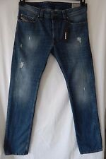 DIESEL INDUSTRY SAFADO BLUE ORBE4 JEANS REGULAR SLIM STRAIGHT 30x32 NWT $218