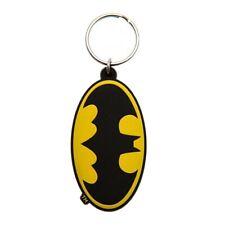 Genuine DC Comics Batman Symbol Logo Rubber Keyring Key Chain Fob Gift Gotham