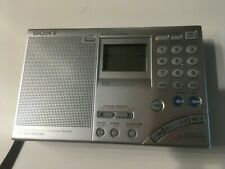 Sony ICF-SW7600GR World Band Receiver, pouch, AN-71 compact antenna, manual, NIB