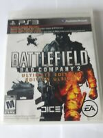 Battlefield Bad Company 2 Ultimate Edition Play Station 3 PS3 Game 2010 COMPLETE