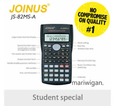 Full Scientific Calculator 240 Functions GCSE A Level Exams UK JS-82-MS