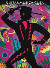 The Guitar Music of Cuba Sheet Music NEW 014013513
