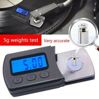 Digital LCD Schallplatten Tonarmwaage Turntable Stylus Force Maßstab Gauge 0,01g