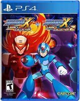 Megaman Mega man X Legacy Collection 1 + 2 PS4 Playstation 4 Brand New Sealed