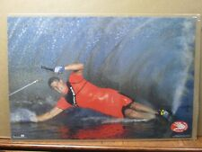 Vintage 1990 Body Glove original water ski skiing poster 12568