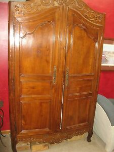 Antique Cherry French Armoire Private Connecticut Estate Stunning