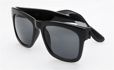Mens / Womens Fashion Casual Style Polarised  Sunglasses Gloss Black Frame
