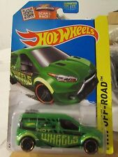 Hot Wheels Ford Transit Connect HW Off-Road Green