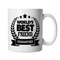 World's Best Friend Mug - Birthday Present Christmas Gift