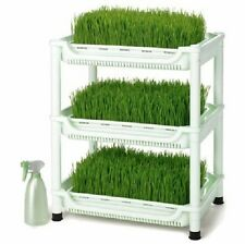 Tribest SM350 Sproutman's Soil Free Wheatgrass Growing~Sprouting Kit~Hydroponic