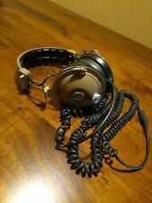 "Koss PRO/4AAA Vintage Headphones Beige 1/4"" Connector Repair Needed"