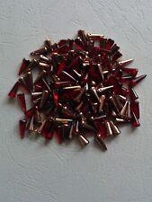 Spike beads dornenperlen 5 x 13 mm Ruby/oro 15 unid.