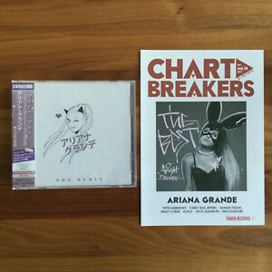 JAPAN ONLY 15 TRACK CD THE REMIX 2015 + BEST FLYER! ARIANA GRANDE // positions