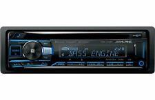 Alpine CDE-175BT, Single-DIN CD Car Stereo w/ Bluetooth, USB & Auxiliary Input