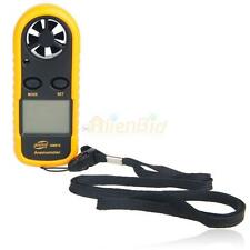 New GM816 Air Wind Speed Scale Gauge Meter Digital Anemometer Thermometer