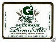 GLÜCKAUF Brauerei AG Gelsenkirchen DM Aktie 1953 Dortmund Brau und Brunnen NRW