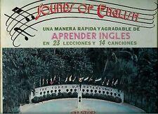 SONIDOS DE INGLES - UNA MANERA FACIL RAPIDA DE APRENDER - 3 LPS +64 PAGE BOOKLET