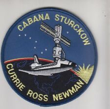 PATCH SPACE NASA STS-88 CABANA STURCKOW CURRIE ROSS NEWMAN  PARCHE