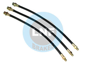 FORD F250 3/4ton F350 1Ton PICKUP TRUCK BRAKE HOSE FRONT REAR 53-60 1953-1960