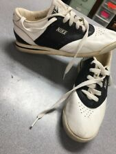 Vtg 80s Nike CORTEZ 1980 FOREST GUMP   WOMEN 5.5 Made In Korea White Black