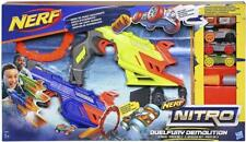 Nerf Nitro DuelFury Demolition 2 Pack Head to Head ChallengesListed for charity