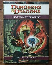 DUNGEONS & DRAGONS: Dungeon Master's Guide CORE RULES (2008, Hardcover)