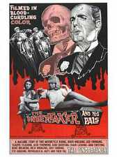 Undertaker And His Pals Poster 01 Metal Sign A4 12x8 Aluminium