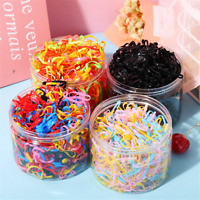 2020 Girl Baby Small Elastic Rubber Hair Ties Rope Ponytail Holder Bobbles Band